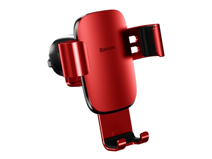 eng pl Baseus Metal Age Gravity Car Mount Phone Holder for Air Outlet red SUYL D09 46822 1