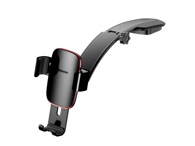 eng pl Baseus Metal Age Gravity Car Mount Phone Holder with Adjustable Arm black SUYL F01 43089 8