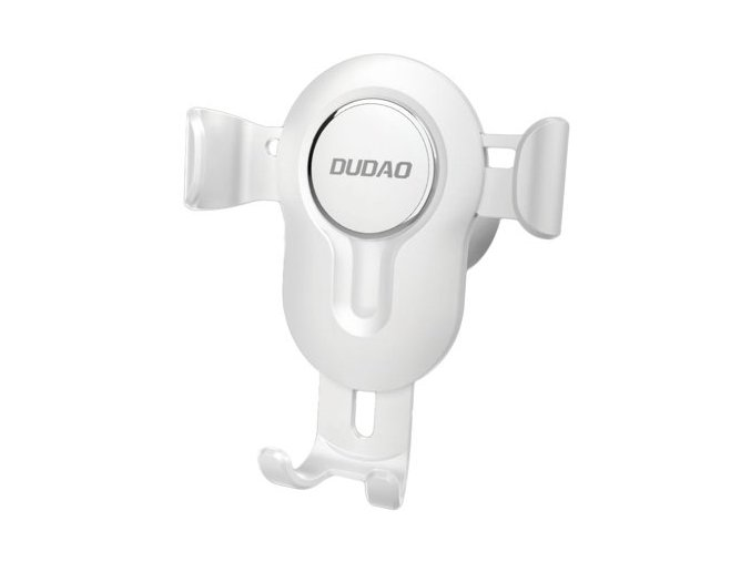 eng pm Dudao Gravity Car Mount Phone Bracket Air Vent Holder white F3 white 55650 1
