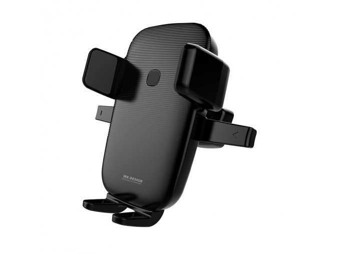 eng pl WK Design Wireless Charger Car Mount Phone Bracket Air Vent Holder Qi Charger 10W black WP U47 black 55029 2