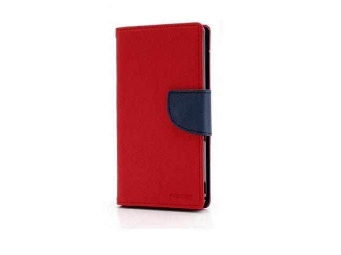 PU kožené pouzdro na Xiaomi Redmi Note 8T - červené