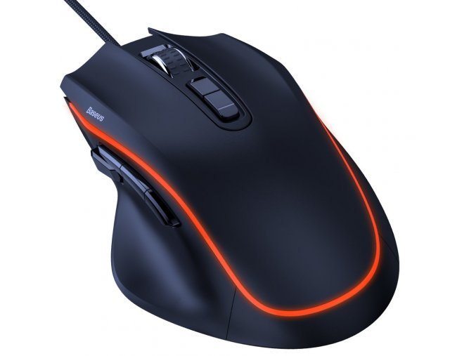 eng pl Baseus Gamo 9 Programmable Buttons Gaming Mouse black GMGM01 01 56609 1