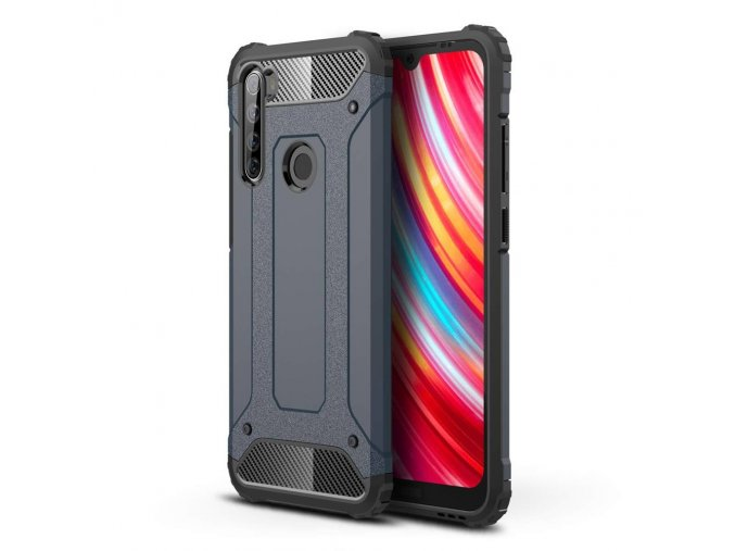 eng pl Hybrid Armor Case Tough Rugged Cover for Xiaomi Redmi Note 8T blue 55867 1