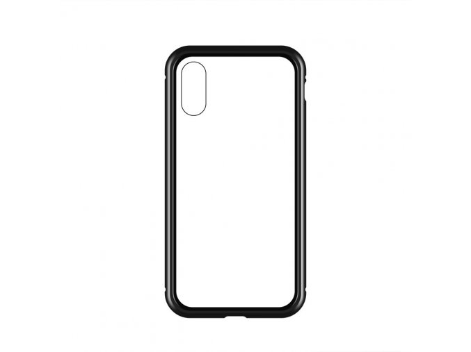 Magnetický oboustranný kryt na Samsung Galaxy S9 (bez tvrzeného skla) - černý