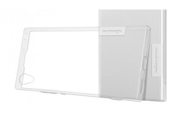 Nillkin Nature gelový kryt na Sony Xperia XA1 - šedý