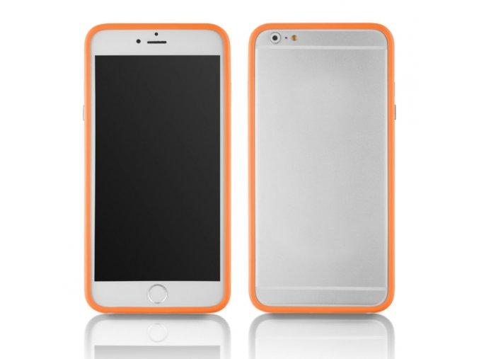 Bumper na iphone 6 plus oranžový