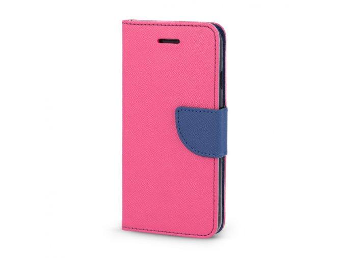 flipové poudro na Samsung J3 2016 růžovo modré