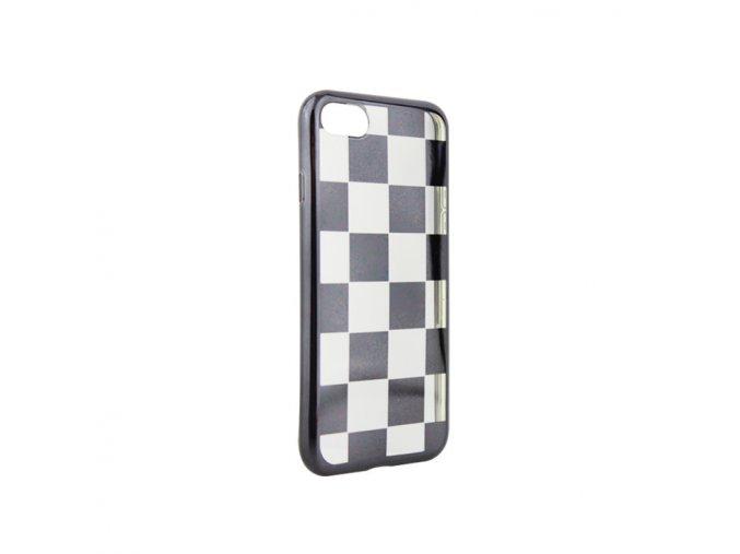 Silikonové šachové pouzdro na Samsung A3 2017 černé