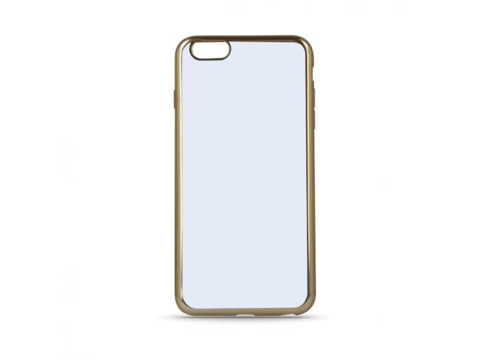 Tpu silikonový obal na Sony XA1se zlatým rámečkem