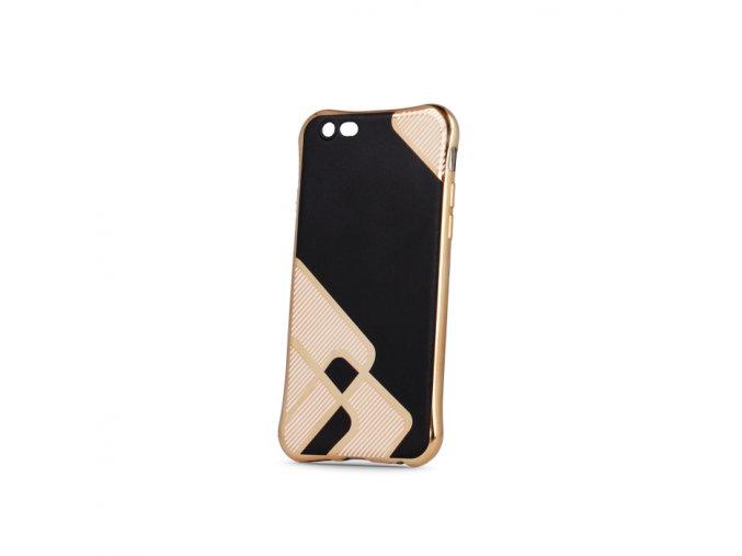 Silikonový symetry obal černo zlatý