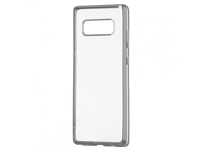 eng pl Metalic Slim case for Sony Xperia XZ2 silver 39620 1