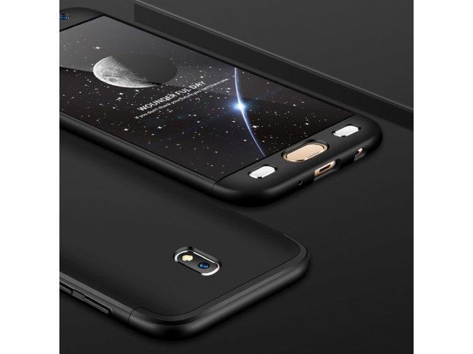 360 oboustranný kryt na Samsung Galaxy J3 2017 černý 2
