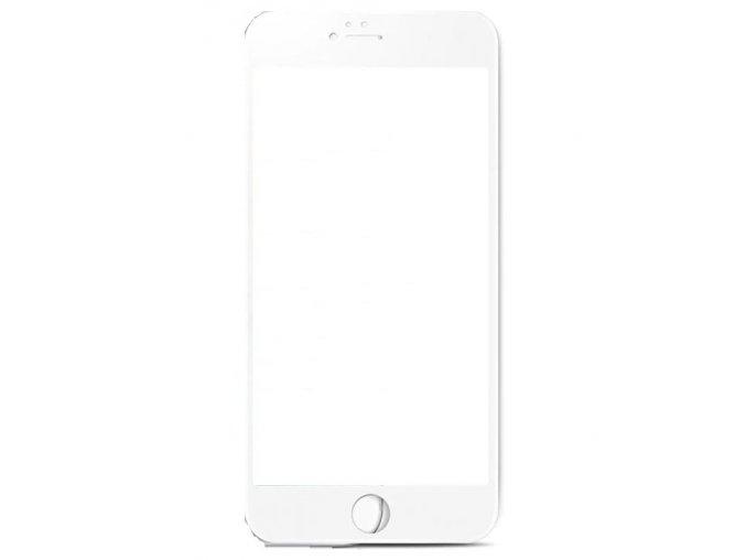3D SOFT tvrzené sklo na iPhone 6/6s - bílé