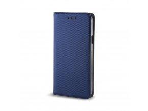 magnetické flipové pouzdro na Huawei Mate 10 Lite modré