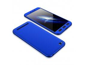 360 oboustranný kryt na Xiaomi Redmi 5A modrý 1