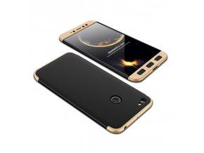 360 kryt na Xiaomi redmi note 5a prime černo zlatý