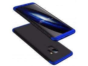 360 oboustranný kryt na Samsung Galaxy S9 modročerný