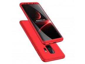 360 oboustranný kryt na Samsung Galaxy S9 Plus červený 1