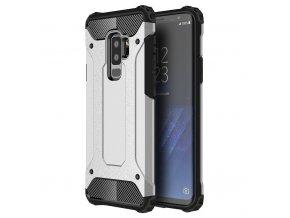 Armor kryt na Samsung Galaxy S9 Plus stříbrný 1