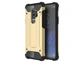 Armor kryt na Samsung Galaxy S9 Plus zlatý