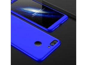 360 oboustranný kryt na Honor 9 Lite modrý 2