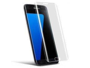 3D Tvrzené sklo na Samsung Galaxy S6 edge transparent