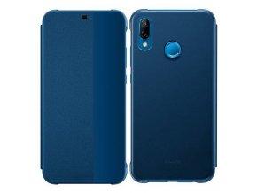 Originální pouzdro Huawei na Huawei P20 lite modré