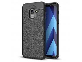 litchi kryt na Samsung A8 2018 černý