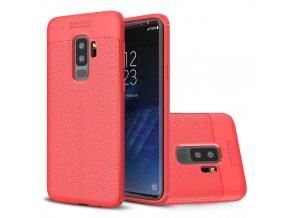 litchi kryt na SamsungS9 plus červený