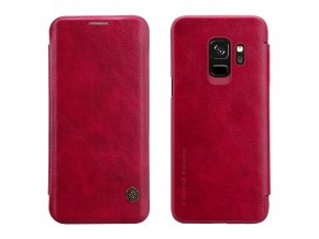 Nillkin qin Leatther pouzdro na Samsung S9 červené