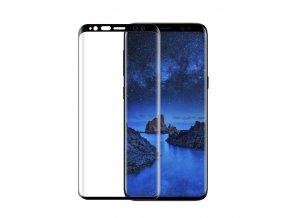 3D tvrzené sklo na Samsung S9 černé