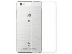 Transparentní silikonový kryt na Huawei P8 Lite  + Doprava zdarma