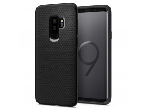 Spigen Liquid Air Matte Black kryt na Samsung Galaxy S9 Plus