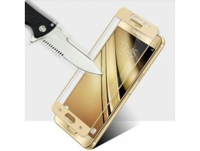 3D Tvrzené sklo na Samsung Galaxy J5 2017 zlaté