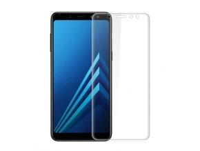 3D Tvrzené sklo na Samsung Galaxy A8 transparentní