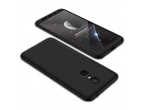 oboustranný kryt 360 na Xiaomi Redmi 5 černý