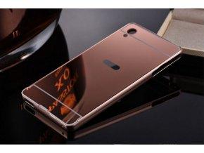 Zrcadlový kryt na Sony Xperia Z3 Růžový