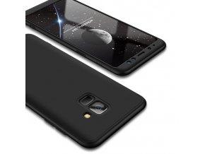 360 oboustranný kryt na Samsung Galaxy A8 2018 - černý