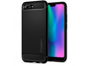 eng pl Spigen Rugged Armor Case Durable Flexible Cover for Huawei Honor 10 black 40228 1