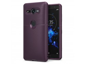 eng pl Ringke Onyx Durable TPU Case Cover for Sony Xperia XZ2 Compact purple OXSN0004 RPKG 40162 1