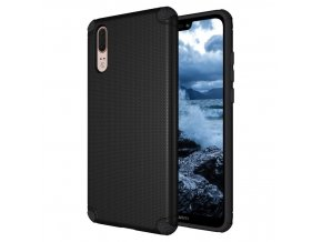 eng pl Light Armor Case Rugged Durable PC Cover for Huawei P20 black no metal plate 40695 1