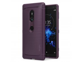 eng pl Ringke Onyx Durable TPU Case Cover for Sony Xperia XZ2 purple OXSN0002 RPKG 40159 1