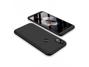 360 oboustranný kryt na Xiaomi redi Note 5 černý
