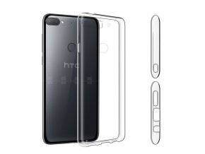 For HTC Desire 12 12 Plus Case Slim Clear Transparent Nature Soft TPU Silicon Cover Cell