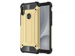 eng pl Hybrid Armor Case Tough Rugged Cover for Xiaomi Redmi Note 5 dual camera Redmi Note 5 Pro golden 41458 1