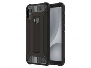 eng pl Hybrid Armor Case Tough Rugged Cover for Xiaomi Redmi Note 5 dual camera Redmi Note 5 Pro black 41457 1