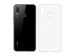 eng pl Huawei Soft Clear Case TPU Gel Cover for Huawei P20 Lite transparent 51992316 38822 2