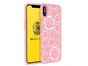 eng pl MSVII IPHONE X Flower pink 41383 1