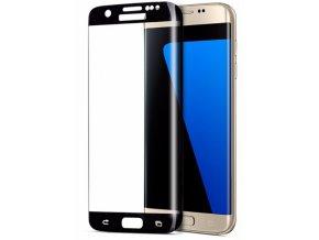 3D tvrzené sklo na Samsung Galaxy S7 Edge - černé