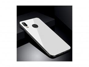 Skleněný kryt na Huawei P20 - bílý